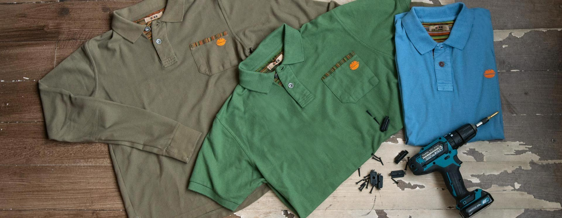 Polo Shirts - Workwear | Dike